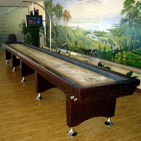 沙弧球台5.9米长 型号YK5900 沙壶球桌 沙狐球桌
